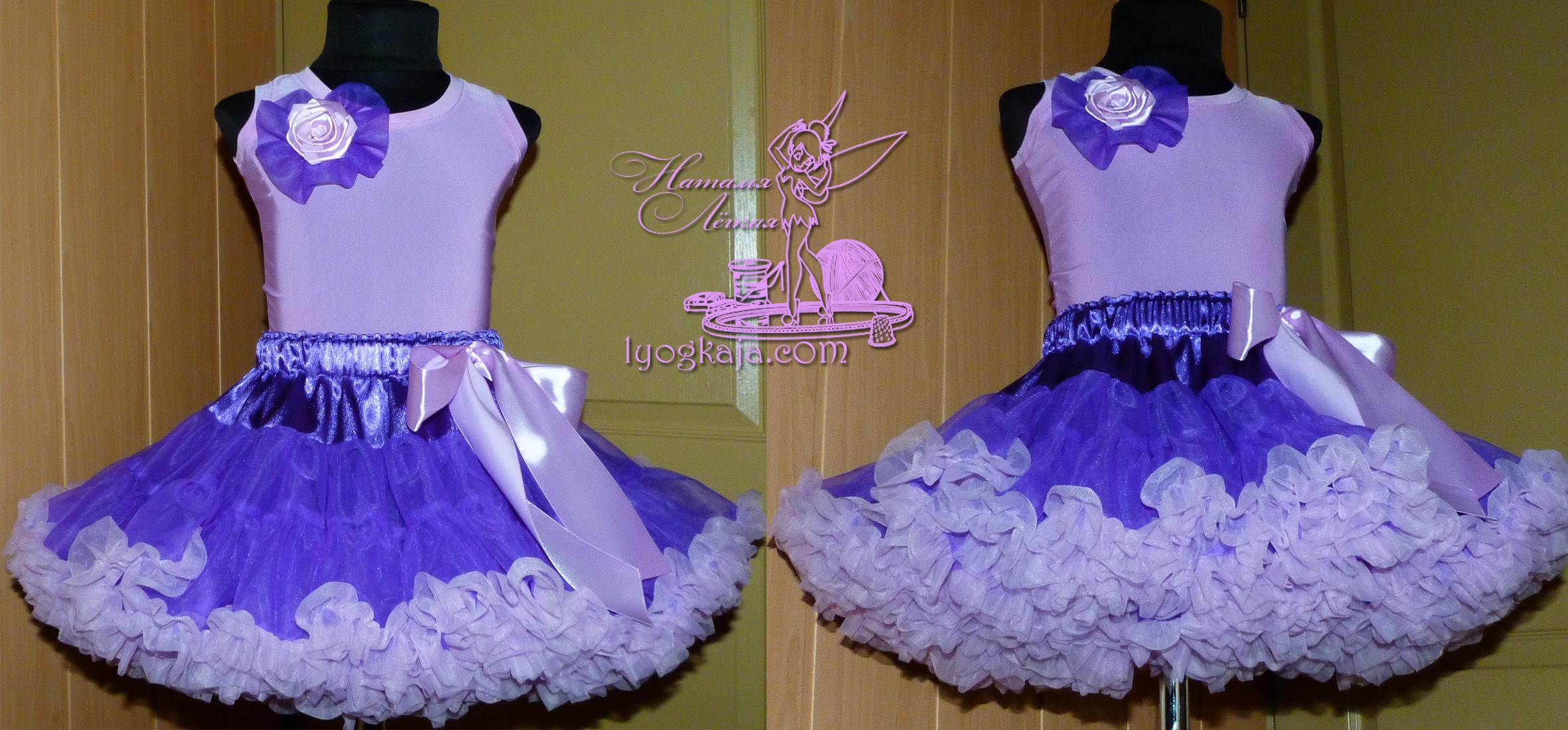 Сшить платье из капрона для девочки 78